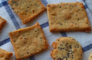 Crackers Just Like Saltines - Homemade
