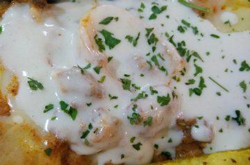 Creamy Spinach Mushroom Lasagna