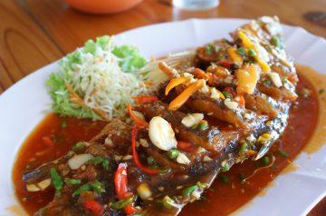 Crispy Fish in Chili Sauce