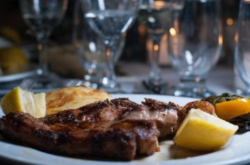 Cube Steak Florentine
