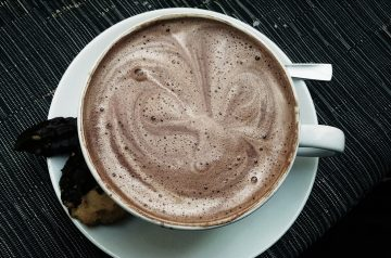 Hot Chocolate With Ginger
