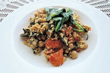 Curried Couscous With Dried Cranberries