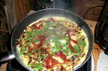 Denver Omelette Pie