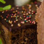 Chocolate Brownie Cake With Double Chocolate Frosting