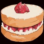 Diabetic Strawberry Shortcake