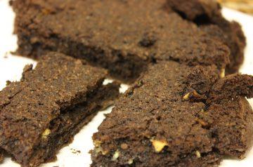 Microwave Double Chocolate Brownies