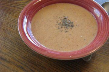 Easy Tomato Tortilla Soup
