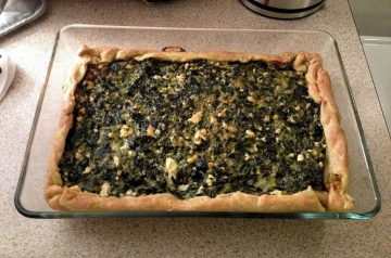 Egg-Free Spinach Pie (That Actually Holds)