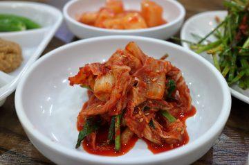 Ethan's Kimchi Seafood Papaya Bowl