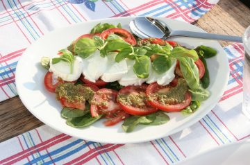 Farfalle and Pesto Salad