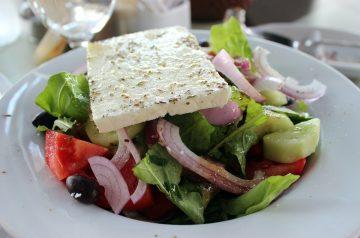 Fettuccine and Feta Salad