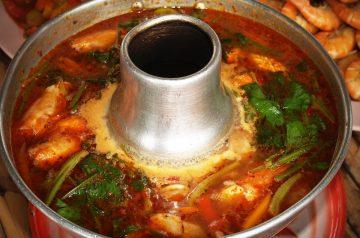 Tom Yum (spicy Thai Soup)