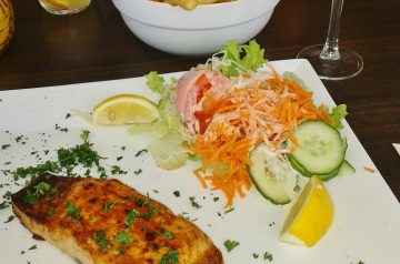 French Oriental Salmon Grill