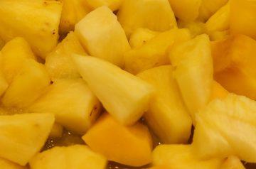 Fresh Pineapple Fruit Salad
