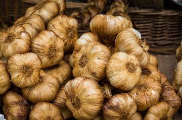 Roasted Zucchini With Garlic