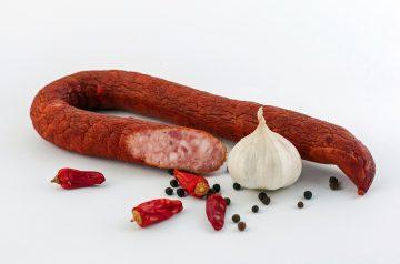 Garlic Polenta With Sausage