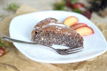 German Lemon Poppy Seed Cake