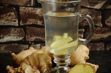 Ginger Cinnamon Tea