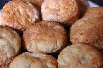 Gingerbread Raisin Scones