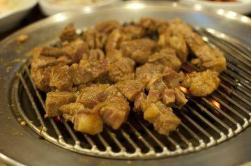 Grilled Cherry Pork Chops