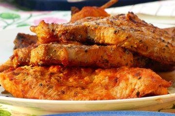 Grilled Tuna with Pineapple-Nectarine Salsa