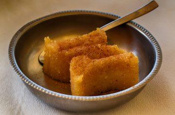 Halva (A Greek Sweet Using Semolina)