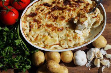 Ham and Au Gratin Potatoes