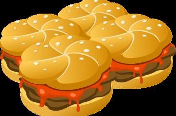 Turkey Cacciatore Burgers on Portobello Buns