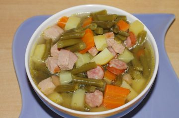 Harira  (lamb and Bean Soup)