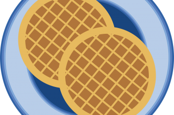 Healthy Pumpkin Belgian Waffles