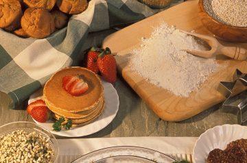Hearty Grains Pancakes