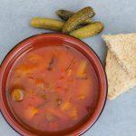 Hearty Vegan Navy Bean Soup