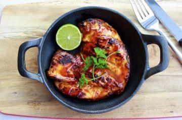 Honey-Garlic Grilled Chicken