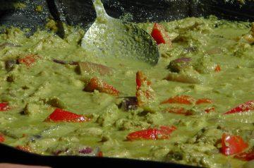 Hot Hot Crab Curry