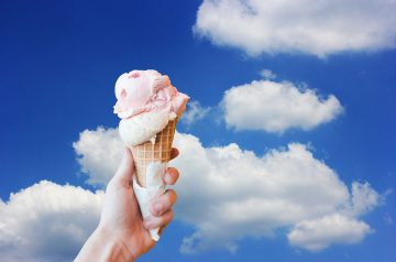 Low-cal Ice Cream Sandwich Substitute