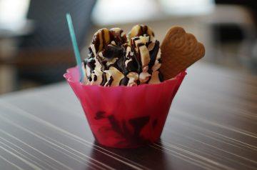 Iced Banana Cream