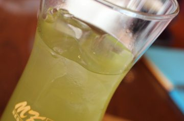 Iced Green Tea With Ginger