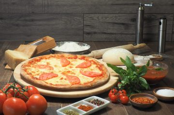 4 Points - White Pizza