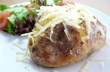 Baked Potato With Ricotta