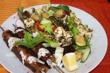 Turkish-Ish Salad