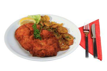 Lemon-Basil Chicken Schnitzel