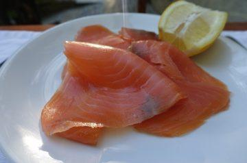 Lemon-Buttered Salmon