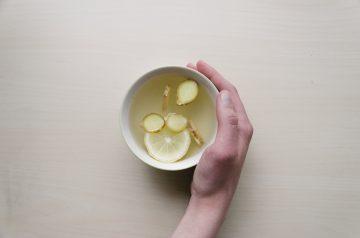 Lemon Ginger Granola