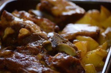 Grilled Crinkle Sweet Potatoes