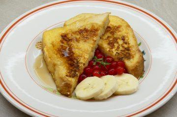 Maple Toast Egg Bake