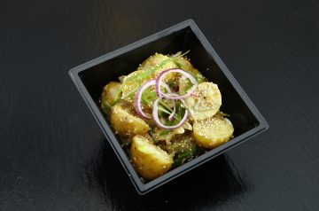 Marinated Tofu Salad for 1 Person