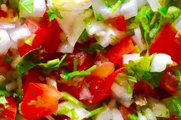 Tx Style Pico De Gallo (Homemade Salsa)