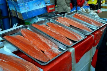 Microwave Salmon Fillets