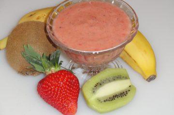 Mixed Berry Banana Smoothie