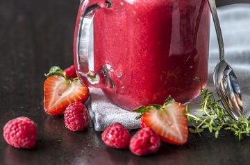 Mixed Berry Fruit Shake